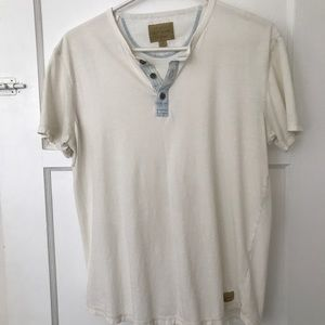 Lucky Brand Shirts - Men's lucky brand short sleeve Henley small
